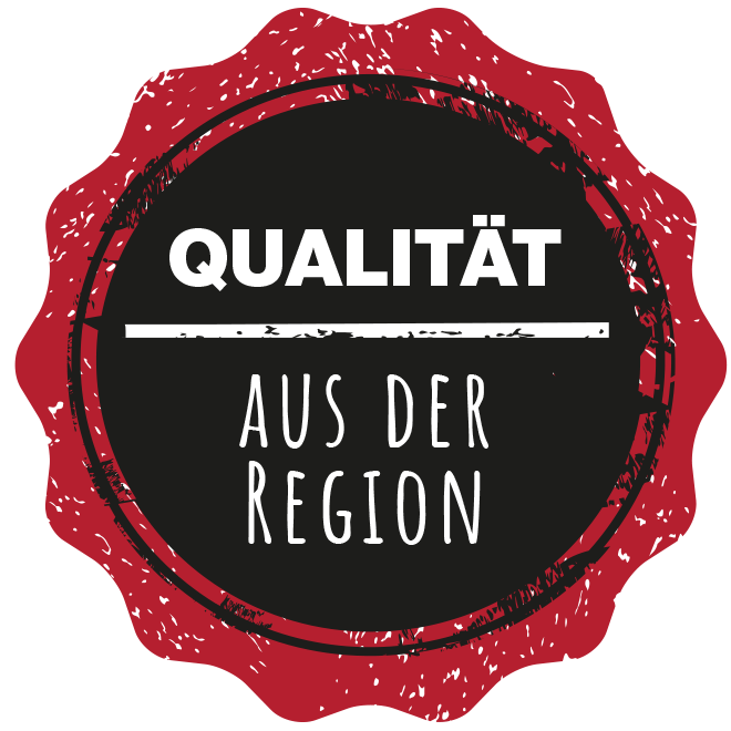 Landhof Wittern - Button: Qualitaet aus der Region